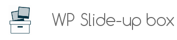 WP Slide-up box plugin